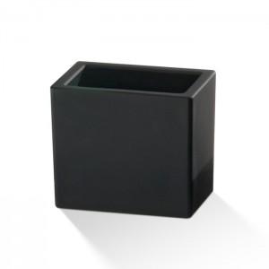 Бокс универсальный 10.5x7x9см, стекло матовое, цвет: черный Decor Walther DW 946 0842560
