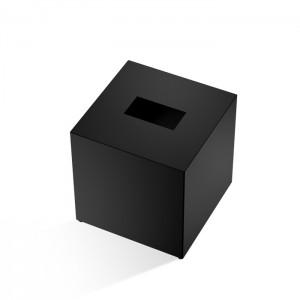 Диспенсер для салфеток 13.3x13.3x13.5см, цвет: черный матовый Decor Walther Cube KB 83 0845660