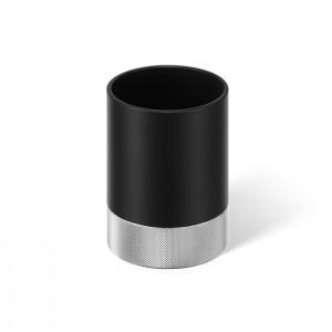 Баночка универсальная 9.6x6.7см, цвет: черный матовый / хром Decor Walther Club 0855060