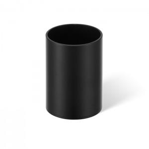 Баночка универсальная 9.6x6.7см, цвет: черный матовый Decor Walther Club 0855160