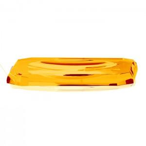 Лоток для расчесок, хрустальное стекло, цвет: янтарь Decor Walther Kristall KS 0924081