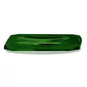 Лоток для расчесок, хрустальное стекло, цвет: английский зеленый Decor Walther Kristall KS 0924096