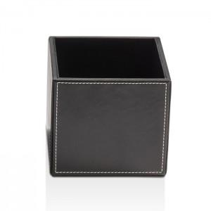 Универсальная коробка 13x13x12.5см, цвет: черная кожа Decor Walther Brownie BOD1 0930860