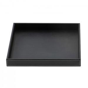 Лоток универсальный 26x22см, цвет: черная кожа Decor Walther Brownie Tab Q 0932560