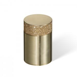 Баночка универсальная 6.5x9.8см, с кристаллами Swarovski, цвет: золото матовое Decor Walther Rocks BMD1 0933782