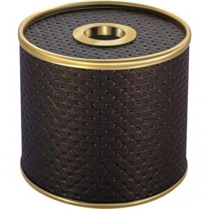 Бокс для салфеток Geralis S-PCG шоколад, золото