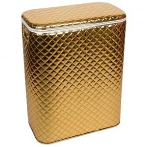 Корзина для белья Geralis SGG-B золото