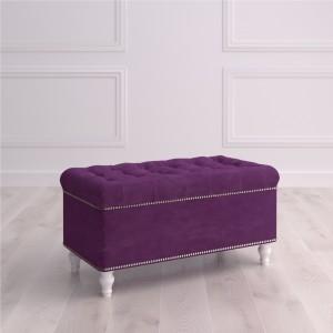 Банкетка с ящиком Терамо Studioakd Puf7 HM29 Фиолетовый