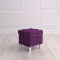 Пуф квадратный малый с ящиком Матера Studioakd puf kv HM29 Фиолетовый