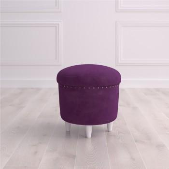 Пуф круглый малый с ящиком Терни Studioakd puf s HM29 Фиолетовый