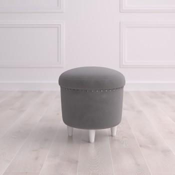 Пуф круглый малый с ящиком Терни Studioakd puf s MR11 Серый
