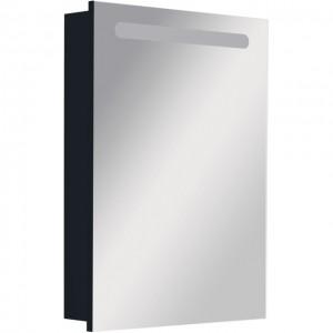 Зеркальный шкаф Roca Victoria Nord Black Edition 60 с подсветкой