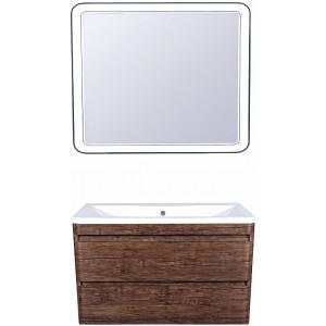 Мебель для ванной Style Line Атлантика 100 Люкс Plus, подвесная, старое дерево