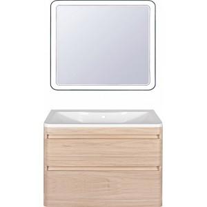 Мебель для ванной Style Line Атлантика 100 Люкс Plus, подвесная, ясень перламутр