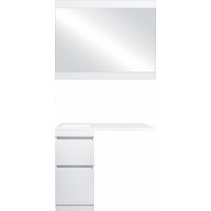 Мебель для ванной Style Line Даллас 100 Люкс Plus напольная, белая