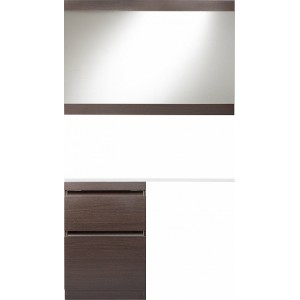 Мебель для ванной Style Line Даллас 120 Люкс Plus напольная, венге