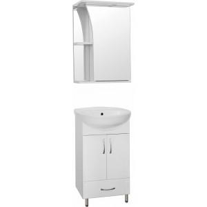 Мебель для ванной Style Line Эко Стандарт №9/1Б 50 белая