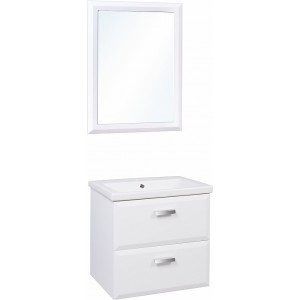 Мебель для ванной Style Line Лотос 60 Люкс Plus подвесная, белая