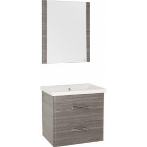 Мебель для ванной Style Line Лотос 60 Plus подвесная, шелк зебрано
