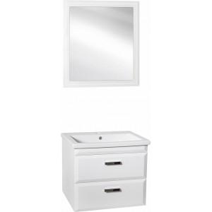 Мебель для ванной Style Line Лотос 70 Люкс Plus подвесная, белая