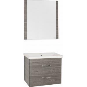 Мебель для ванной Style Line Лотос 70 Plus подвесная, шелк зебрано