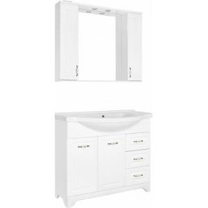 Мебель для ванной Style Line Олеандр-2 100 Люкс, белая