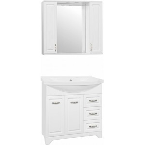 Мебель для ванной Style Line Олеандр-2 90 Люкс, белая