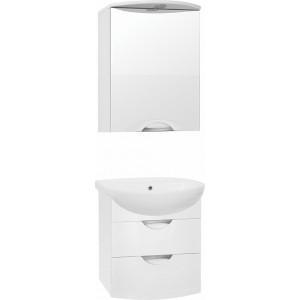 Мебель для ванной Style Line Жасмин-2 55 Люкс Plus, белая