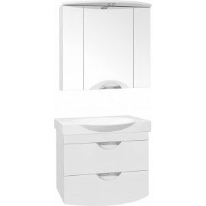 Мебель для ванной Style Line Жасмин-2 76 Люкс Plus, белая