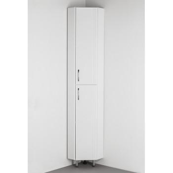 Шкаф-пенал Style Line Эко Стандарт 30 угловой, белый