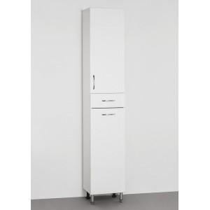 Шкаф-пенал Style Line Эко Стандарт 36 с бельевой корзиной, белый
