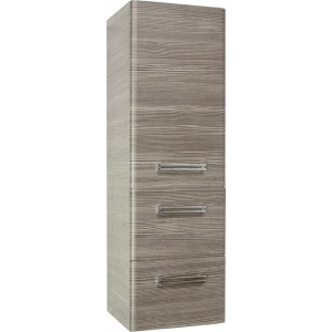 Шкаф-пенал Style Line Лотос Plus 36 подвесной, шелк зебрано