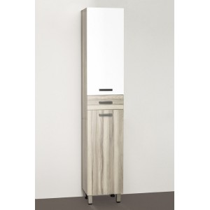 Шкаф-пенал Style Line Ориноко 36 белый, ориноко