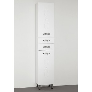 Шкаф-пенал Style Line Венеция 36 белый