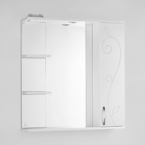 Зеркало-шкаф Style Line Эко Фьюжн Панда 75/С белый