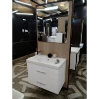 Мебель для ванной Smile Арабеско 80 Белый глянец
