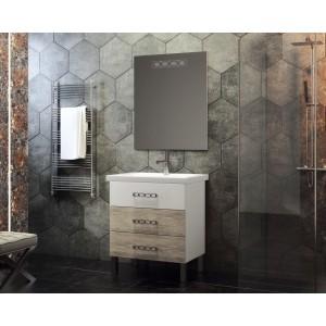 Мебель для ванной напольная Smile Боско 60 Белый/Орегано