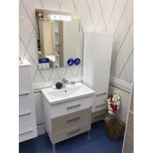 Мебель для ванной напольная Smile Боско 70 Белый/Орегано
