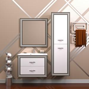 Мебель для ванной комнаты Opadiris Карат Серебро 100