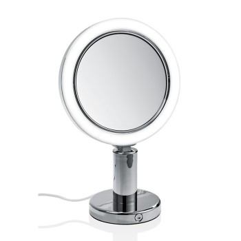 Косметическое, настольное, двухстороннее зеркало с подсветкой Decor Walther 0117800
