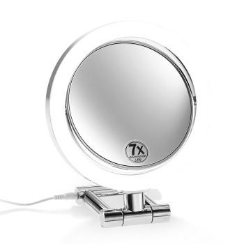 Косметическое, настольное, двухстороннее зеркало с подсветкой Decor Walther 0121100