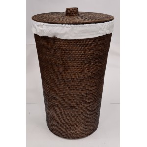 Корзина для белья из ротанга 2kkorzina коричневая 20-0005 Br