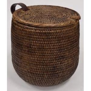 Корзина для белья из ротанга 2kkorzina коричневая 20-0040 Br