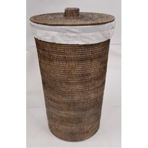 Корзина для белья из ротанга 2kkorzina коричневая 20-0005 G