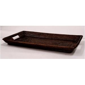 Поднос плетеный 2kkorzina коричневый 20-0013 Br/2