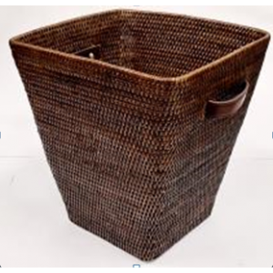 Корзина для мусора 2kkorzina коричневая 20-0041 Br