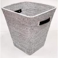 Корзина для мусора 2kkorzina белая 20-0041 W
