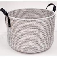 Корзина для мусора 2kkorzina белая 20-0042 W