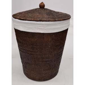Корзина для белья из ротанга коричневая 2kkorzina 20-0017 Br/1