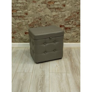 Пуфик с крышкой 333-04К Fiore grey (серый)